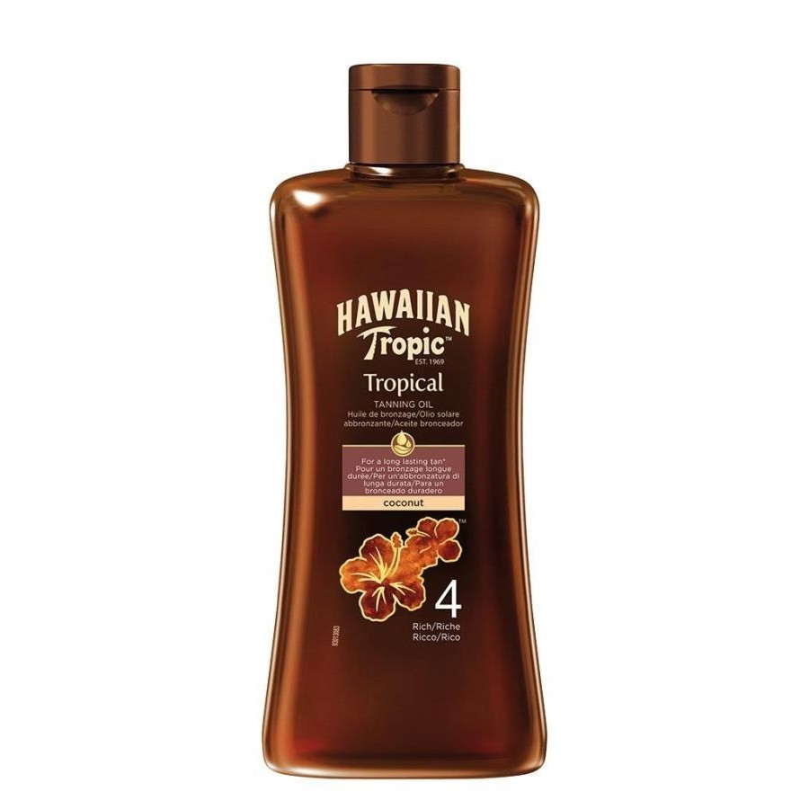photo Tropical Tanning Oil SPF 4 - Rich