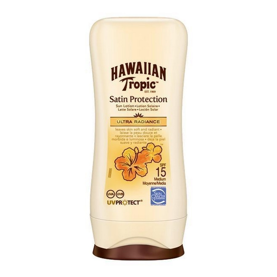 photo Mini Bottle Satin Sun Lotion SPF15