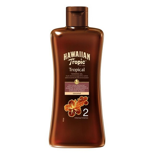 HAWAIIAN TROPIC  Tropical Tanning Oil Intense (SPF 2)