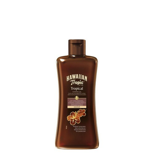 HAWAIIAN TROPIC  Tropical Tanning Oil Dark (SPF 0)