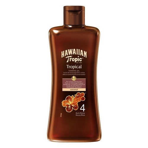 HAWAIIAN TROPIC  Tropical Tanning Oil Rich (SPF 4)