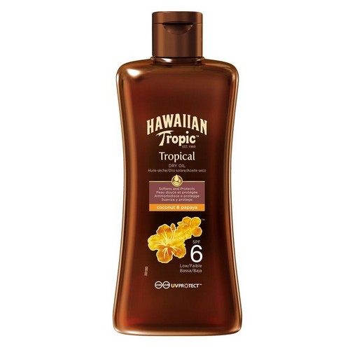 HAWAIIAN TROPIC  Protective Dry Oil (SPF 6)