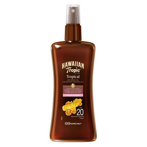 HAWAIIAN TROPIC  Protective Spray Dry Oil (SPF 20)