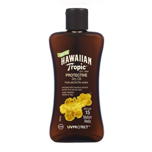 HAWAIIAN TROPIC  Protective Dry Oil Travel Size (SPF 15)