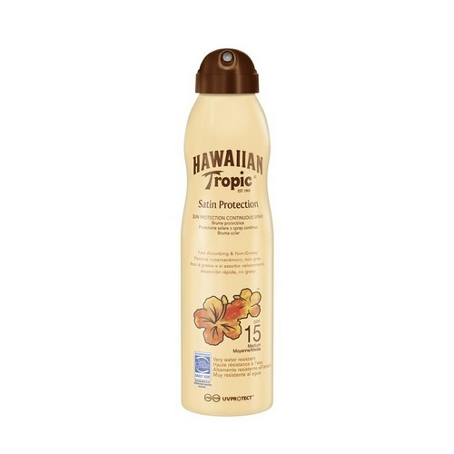 HAWAIIAN TROPIC  Satin Can Spray Lotion (SPF 15)