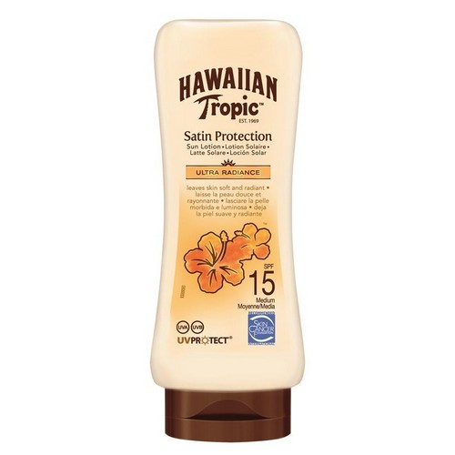 HAWAIIAN TROPIC  Satin Sun Lotion (SPF 15)
