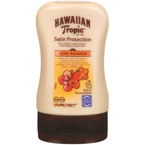 HAWAIIAN TROPIC  Satin Sun Lotion Travel Size (SPF 15)
