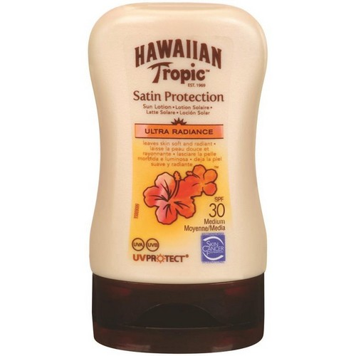 HAWAIIAN TROPIC  Satin Sun Lotion Travel Size (SPF 30)