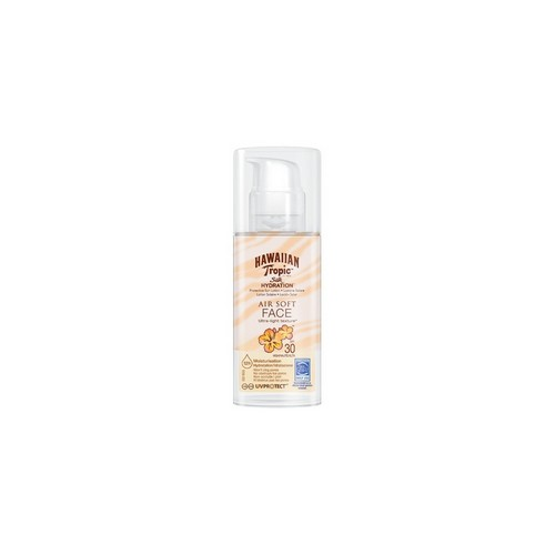 HAWAIIAN TROPIC  Silk Hydration Air Soft FACE (SPF 30)
