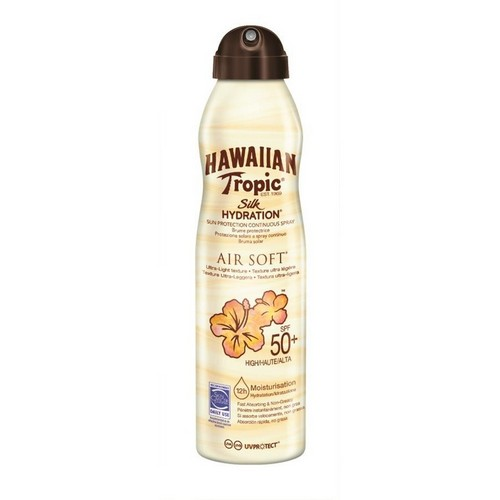 HAWAIIAN TROPIC  Silk Hydration Air Soft Can Spray (SPF 50)